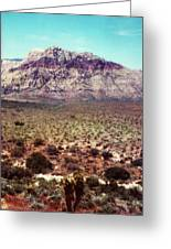 Red Rock Iv Greeting Card