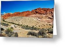 Red Rock Mountain Greeting Card