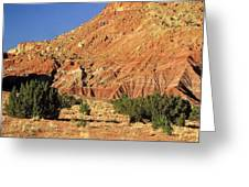 Red Rock New Mexico Greeting Card