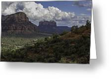 Red Rock Of Sedona Arizona Greeting Card