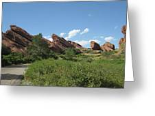 Red Rock Park Greeting Card
