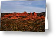 Red Rock Peaks 23 Greeting Card