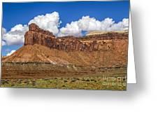 Red Rock Rampart Greeting Card