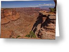 Red Rock Vista Greeting Card