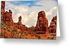 Red Rocks Of Sedona Greeting Card