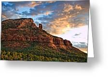 Red Rocks Sedona, Az Greeting Card