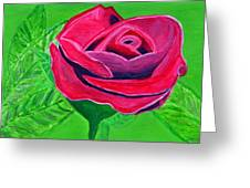 Red Rose 2 Greeting Card