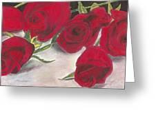 Red Rose Redux Greeting Card