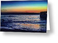 Red Sea Aqaba Greeting Card