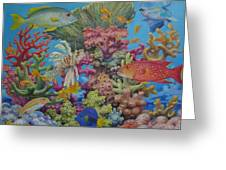 Red Sea Reef Greeting Card