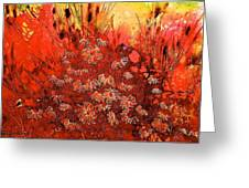 Red Sea Greeting Card