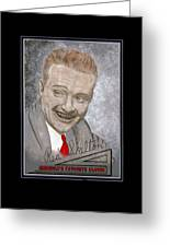Red Skelton Greeting Card