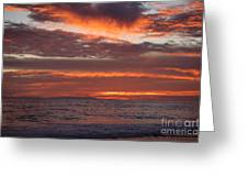 Red Sky II Greeting Card