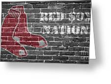 Red Sox Nation Greeting Card
