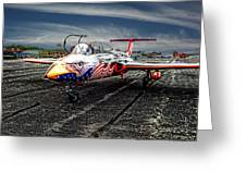 Red Star Viper United States Side Greeting Card