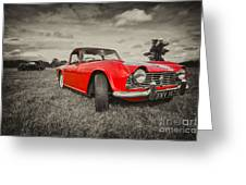 Red Tr4  Greeting Card