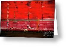 Red Velvet Greeting Card