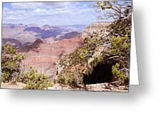 Red Wall - Grand Canyon Greeting Card