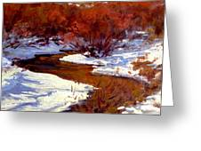 Red Willow Creek Greeting Card