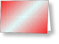 Red.5 Greeting Card