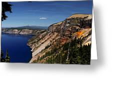 Redcloud Cliff Greeting Card
