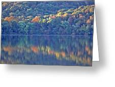 Rednor Lake Reflections - 1 Greeting Card