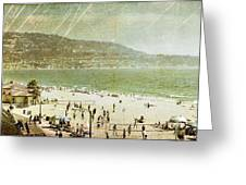Redondo Beach La Greeting Card by Kevin Bergen