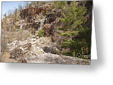 Redstone Granite Quarry - Conway New Hampshire Greeting Card