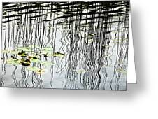Reeds And Reflections Greeting Card