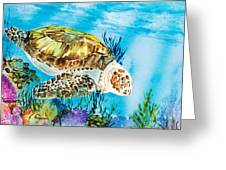 Reef Surfin Greeting Card