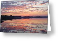 Reflected Sunrise Greeting Card