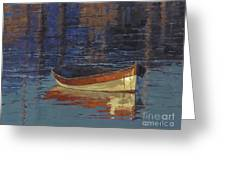 Sold Reflecting At Day's End Greeting Card