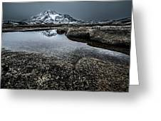 Reflecting Mountain Greeting Card