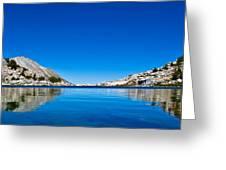 Reflecting On Treasure Lake Greeting Card