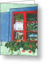 Reflecting Panes Greeting Card