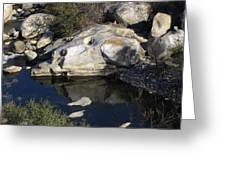 Reflecting Rock-sequoia National Park Greeting Card