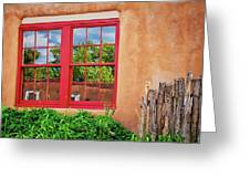 Reflecting Santa Fe Greeting Card