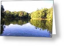 Reflecting Seasons Greeting Card