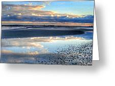 Reflecting Sky  Greeting Card