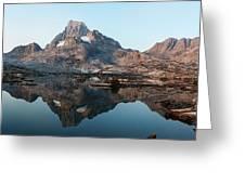 Reflection At Thousand Island Lake Greeting Card