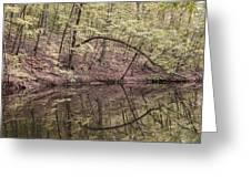 Ridge Run Reflection Greeting Card