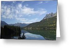 Lake Reflection Greeting Card