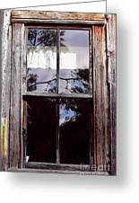 Reflection - In - The - Window  Greeting Card