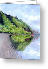 Reflection Greeting Card by Kenneth Grzesik