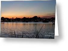 Reflection Lagoon Greeting Card