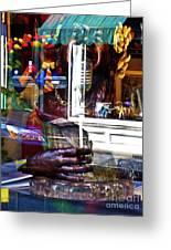Reflection On Jazz Greeting Card