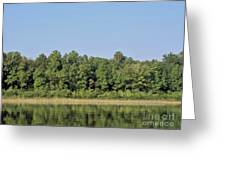 Reflection - On - The - Water Greeting Card
