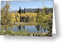 Reflection Pond Greeting Card