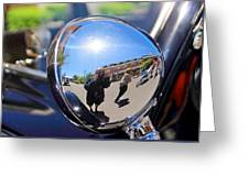 Reflection Selfie Greeting Card