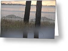 Reflection X 2 Greeting Card